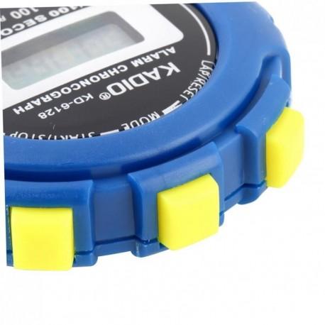 KD-6128 Cronógrafo Cronómetro digital Cronómetro Deporte Contra reloj cuentakilómetros - Envío Gratuito