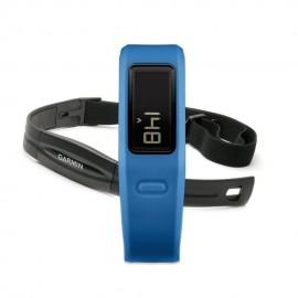 Medidor de Actividad VivoFit con Banda de Ritmo Cardíaco Garmin-Azul
