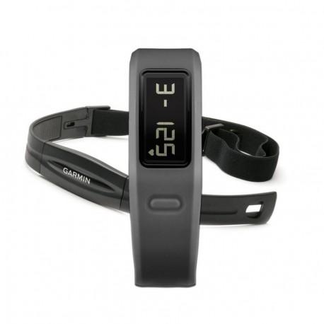 Medidor de Actividad VivoFit con Banda de Ritmo Cardíaco Garmin-Gris - Envío Gratuito