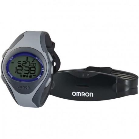 Reloj Monitor de Frecuencia Cardíaca Omron HR-310-Gris - Envío Gratuito