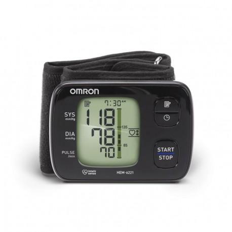 Monitor de Presión Arterial Elite Plus Omron HEM-6221-Negro - Envío Gratuito