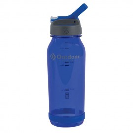 Botella de agua de plástico 750 ML