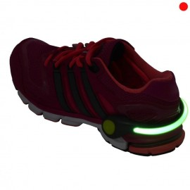 Clip Para Calzado Luz Led Para Tenis Correr Bici Seguri 1830