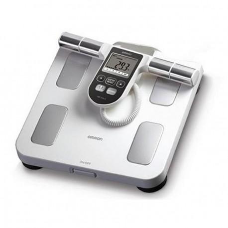 Balanza con Analizador de Fitness Omron HBF-510LA-Blanco - Envío Gratuito