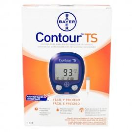 Glucómetro Bayer Contour TS -Azul