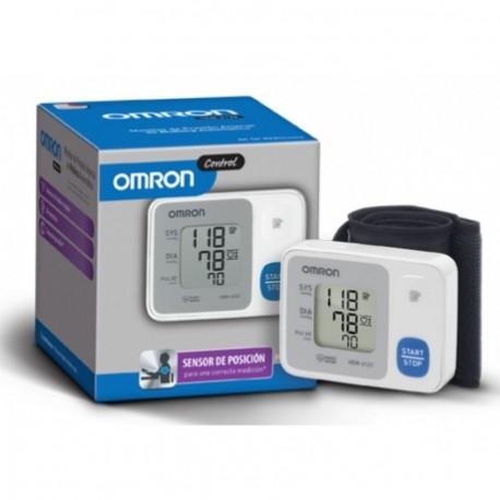 Monitor de Presión Arterial Control Omron HEM-6122-Blanco - Envío Gratuito