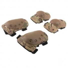 2 x Par Rodillera Codera Protección de Rodilla Codo Protector Deportivo