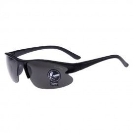 Sunglasses Lentes de Sol Deportivo Multi-Color contra Rayos UVA UVB OASAP-ES71403-Negro