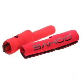 2 Protector para Horquilla de Bicicleta Rojo Neopreno Deporte