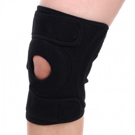 Elenxs Deportes Abrir la rótula de la rodilla Brace 4 resortes Soporte Wrap Protector de alta calidad - Envío Gratuito