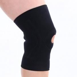 Elenxs Rótula Deportes rodillera 4 resortes Soporte Wrap protector elástico de alta calidad