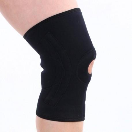 Elenxs Rótula Deportes rodillera 4 resortes Soporte Wrap protector elástico de alta calidad - Envío Gratuito