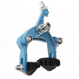 Elenxs Trasera T Freno para la bici del camino de la bicicleta del metal de goma al aire libre Deportes Azul