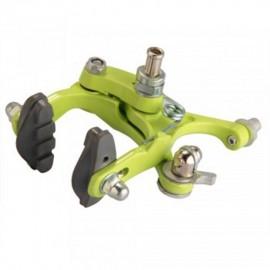 Elenxs Trasera T Freno para la bici del camino de la bicicleta del metal de goma al aire libre Deportes Verde