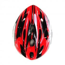 Elenxs Rojo Negro MTB Carretera Montaña bicicleta Ciclismo Deporte Hombres Casco + Visor L