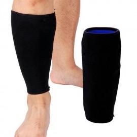 Deportes Becerro Shin pierna elástico de compresión ayuda del apoyo del abrigo de alta calidad