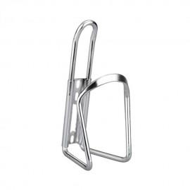 Botella de aluminio para bicicleta Ciclismo Deporte acuático estante del sostenedor de la jaula de plata