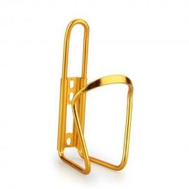 Para bicicleta Ciclismo Deporte acuático Aluminio Botella estante del sostenedor de la jaula de oro