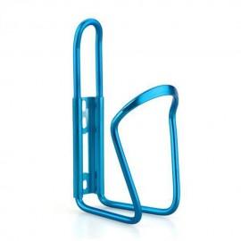 Para bicicleta Ciclismo Deporte acuático Aluminio Botella sostenedor de la jaula del estante azul