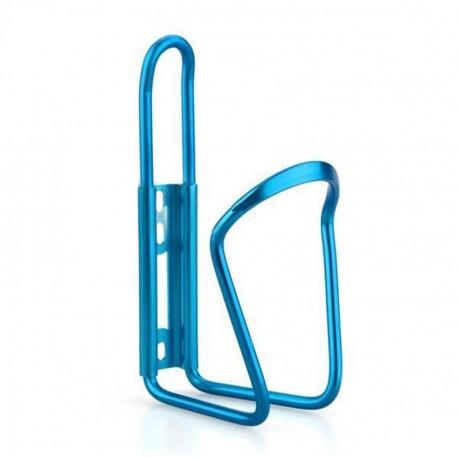 Para bicicleta Ciclismo Deporte acuático Aluminio Botella sostenedor de la jaula del estante azul - Envío Gratuito