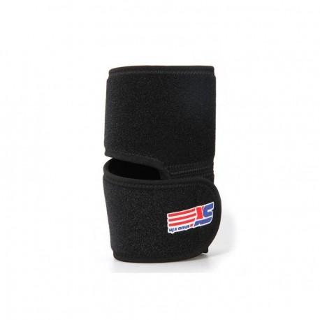 Codera Deporte Protección para Codo con Velcro Ajustable Negro - Envío Gratuito