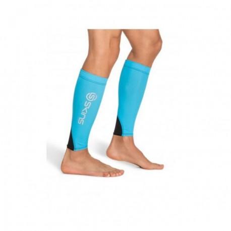 Medias de compresión Unisex Skins B59149088-Azul - Envío Gratuito
