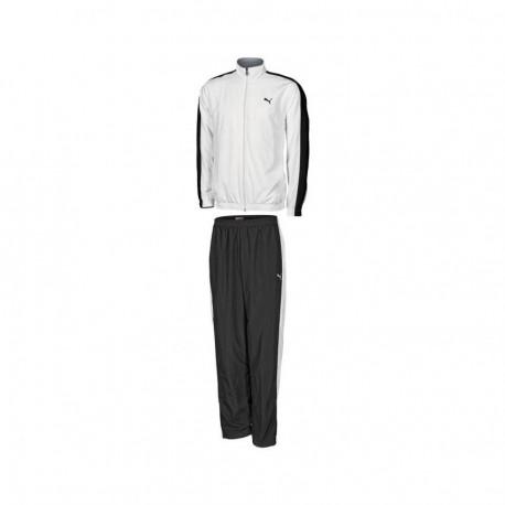 Coordinado Puma Woven Panelled Suit-Blanco - Envío Gratuito