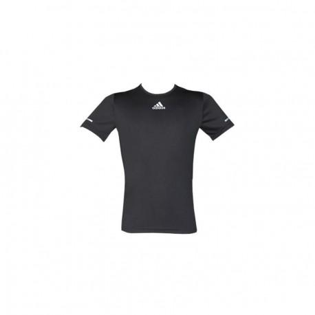 Playera para correr de Hombre Adidas Sequencials S03011-Negro - Envío Gratuito