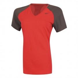 Playera Nike Regular Club SS Baselayer-Rojo