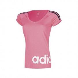 Playera Adidas-Rosa