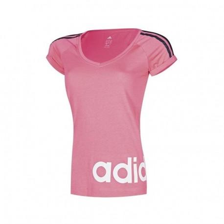 Playera Adidas-Rosa - Envío Gratuito