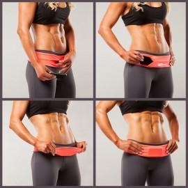 Cinturon Fitness FlipBelt-Morado