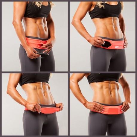 Cinturon Fitness FlipBelt-Morado - Envío Gratuito