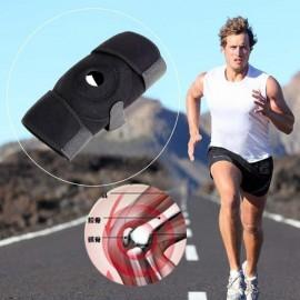 Neopreno ajustable elástico abierto de la rótula de la rodilla Brace sujetador Soporte Protector