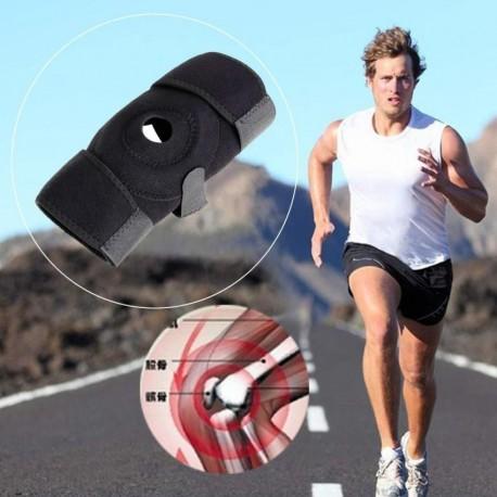 Neopreno ajustable elástico abierto de la rótula de la rodilla Brace sujetador Soporte Protector - Envío Gratuito