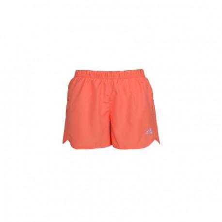 Short para correr de Mujer Adidas Response 4 INCH SH W S14802-Naranja - Envío Gratuito