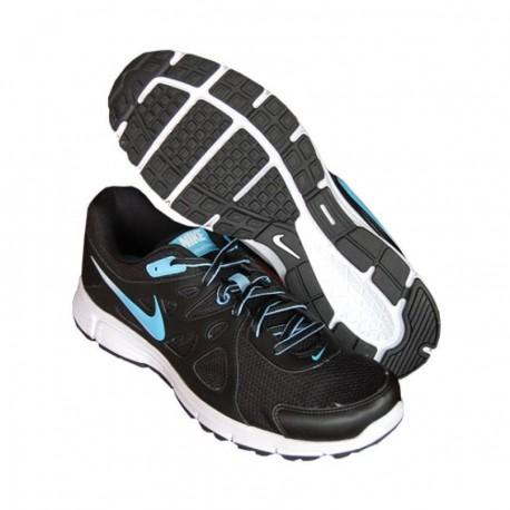 Tenis para correr de Hombre Nike Revolution 2 MSL 554954-049-Negro - Envío Gratuito
