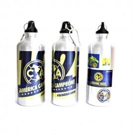 Botella para Agua metalica América Campeon