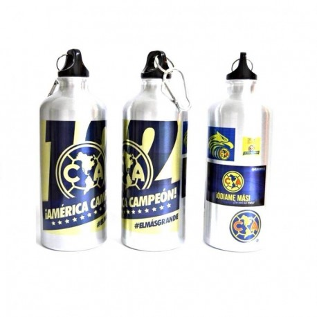Botella para Agua metalica América Campeon - Envío Gratuito