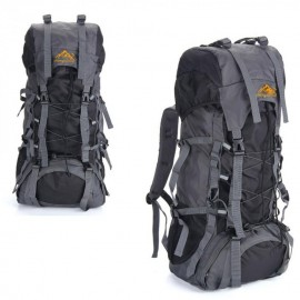 Mochila de deporte al aire libre de 55L bolsa Trekking Camping viaje paquete impermeable monta?ismo escalada - Envío Gratuito