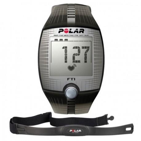 Reloj Monitor de Pulso Activo Fitness Polar FT1-Negro - Envío Gratuito