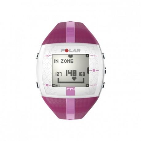 Reloj Monitor de Pulso Activo Fitness Polar FT4F-Rosa - Envío Gratuito