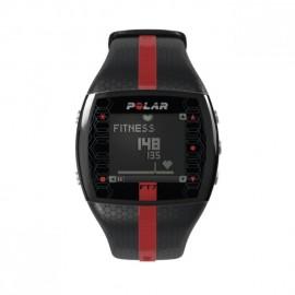 Reloj Monitor de Pulso Activo Fitness Polar FT7-Negro Rojo