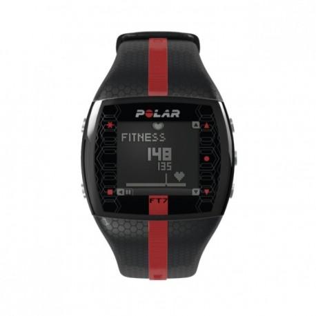Reloj Monitor de Pulso Activo Fitness Polar FT7-Negro Rojo - Envío Gratuito