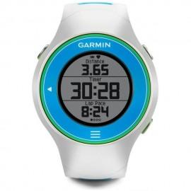 Reloj Monitor Cardiaco con GPS Garmin Forerunner 610 - Blanco