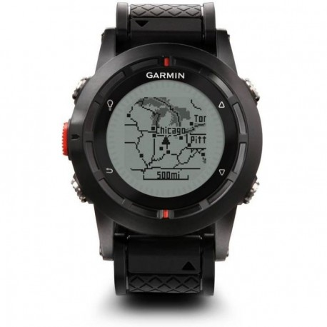 Reloj Monitor Cardiaco Garmin Fenix-Negro - Envío Gratuito