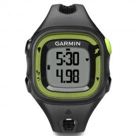Reloj de Fracuencia Cardíaca Garmin Forerunner 15 con Banda-Negro con Verde