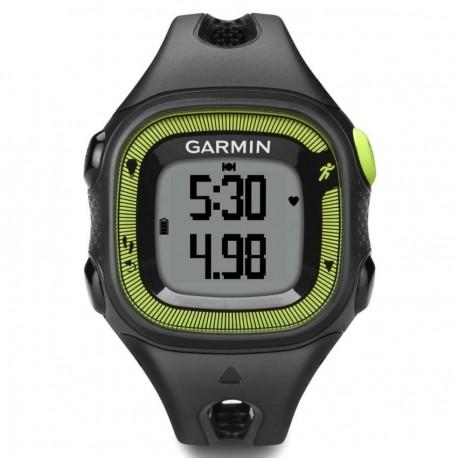 Reloj de Fracuencia Cardíaca Garmin Forerunner 15 con Banda-Negro con Verde - Envío Gratuito