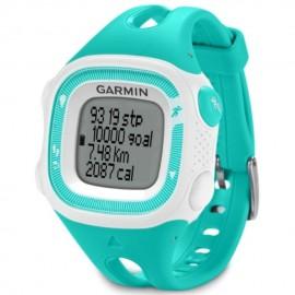 Reloj de Fracuencia Cardíaca Garmin Forerunner 15 con Banda-Verde con Blanco