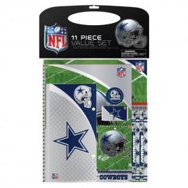 Set de artículos escolares Dallas Cowboys - Envío Gratuito